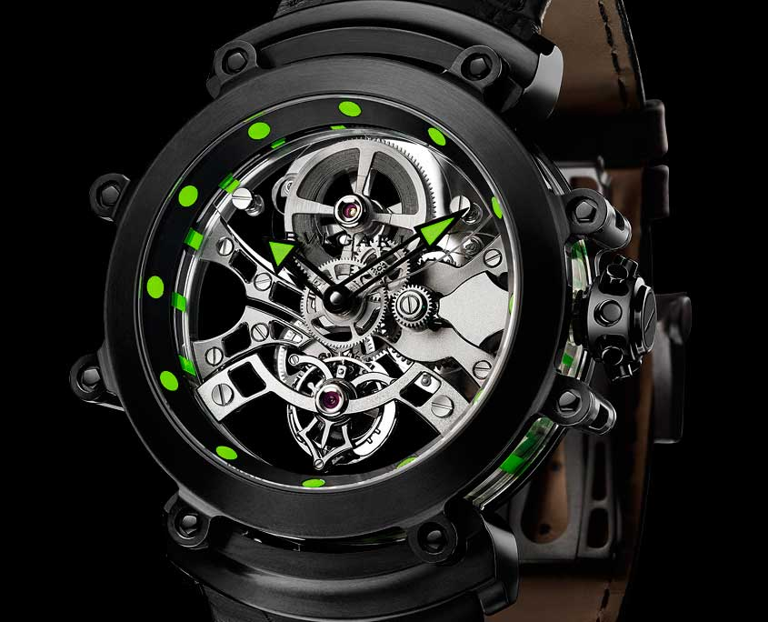 Bulgari Tourbillon Saphir Ultranero