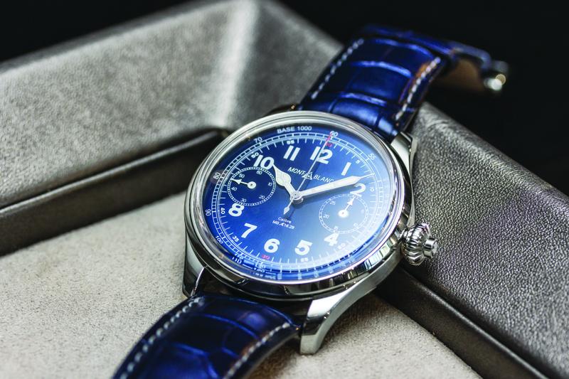 Montblanc Chronograph Tachymeter. Edición limitada de 100 piezas. Lanzamiento exclusivo en SIAR
