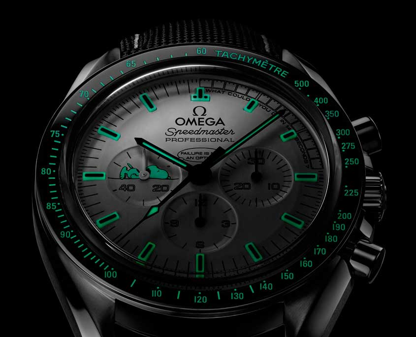 Omega Speedmaster Apollo 13 Snoopy Award Limited Edition