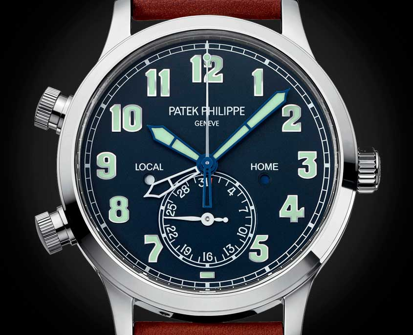 Patek Philippe Calatrava Pilot Travel Time Ref. 5524