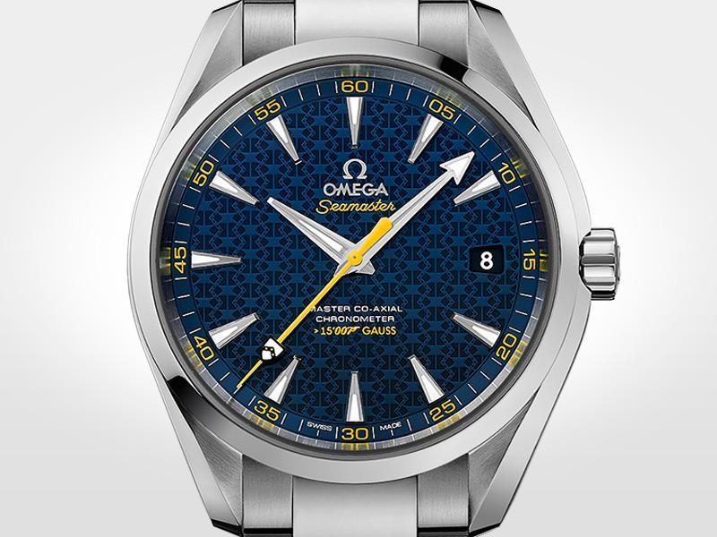 Edición 2015. Seamaster Aqua Terra 150M inspirado en el escudo de armas de la familia Bond.