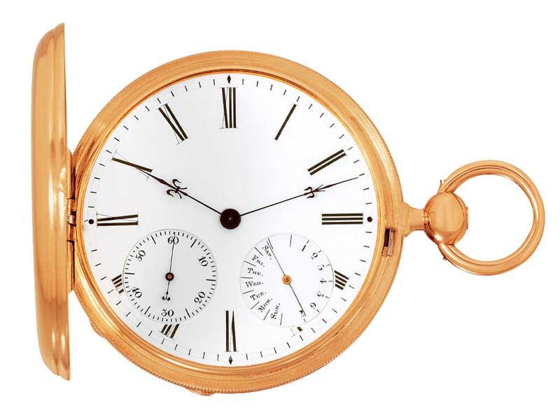 El posicionamiento de los contadores de los relojes de Czapek son el ADN de la nueva colección. Este reloj del slgilo XIX es prueba de ello