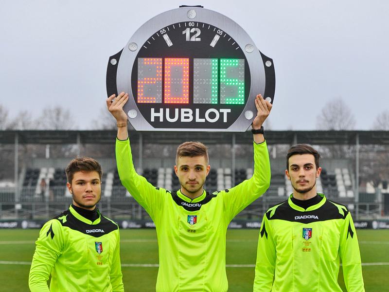 Desde 2012, Hublot es el cronometrador oficial de la Juventus.