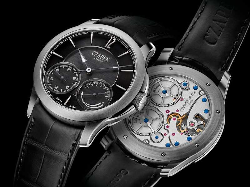 Una de las versiones de los nuevos relojes de Czapek