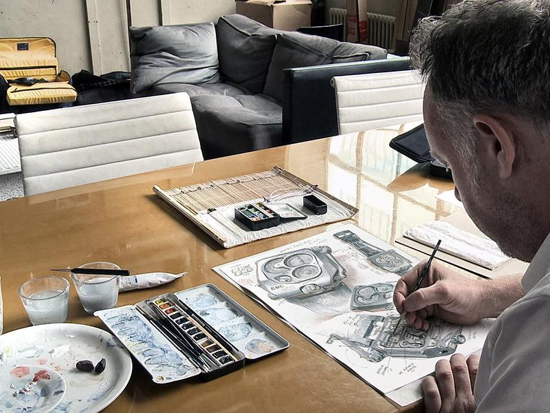 Martin Frei, diseñador artístico de Urwerk