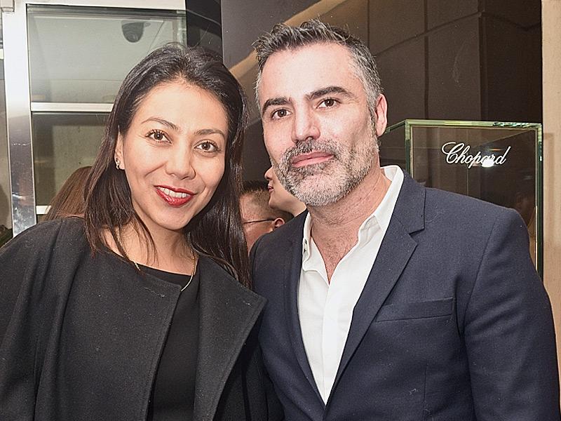 Kira Álvarez y Nino Bauti.