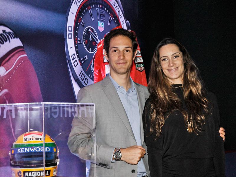Bruno y Bianca, sobrinos de Ayrton Senna