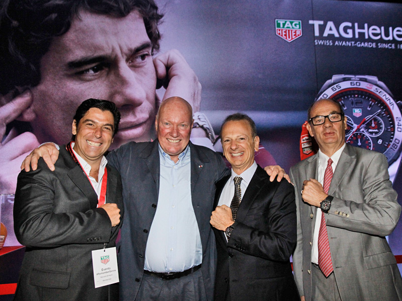 Marcelo Meceoni, Jean-Claude Biver, Freddy Rabbat, Christian Weissbach