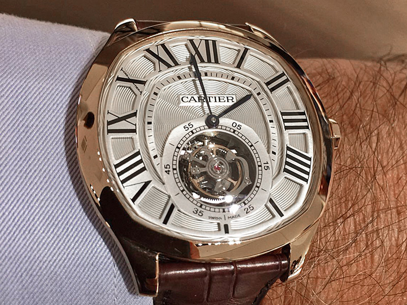 Reloj cartier de hombre