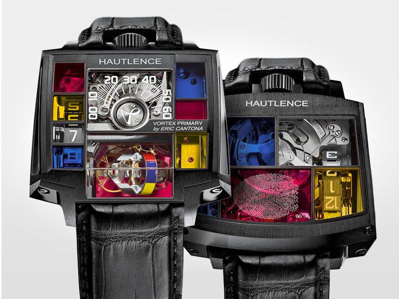 Hautlence Vortex Primary by Eric Cantona