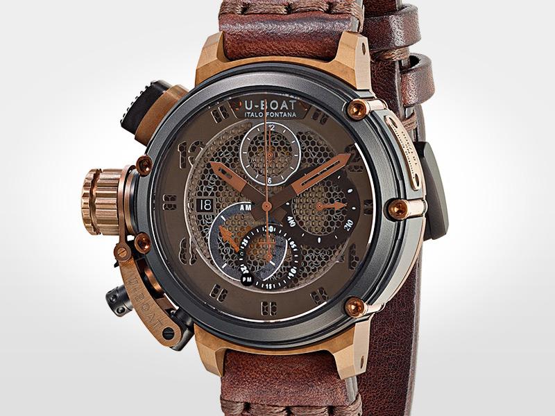 El look retro de los relojes U,Boat sigue siendo su seña de identidad en el lanzamiento pre Baselworld 2016 de Chimera Net, un guardatiempo también muy