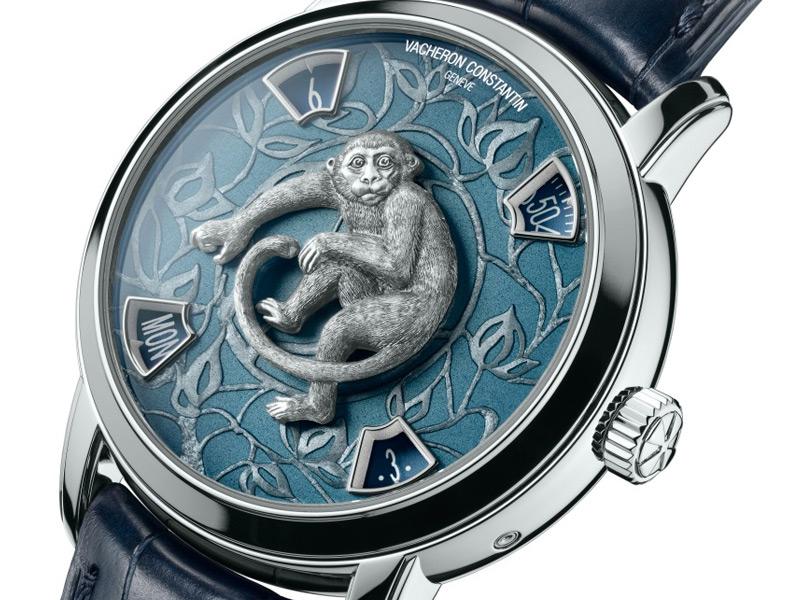 Vacheron Constantin Métiers d'Art La Légende du Zodiaque Chinois Year of the Monkey en platino.