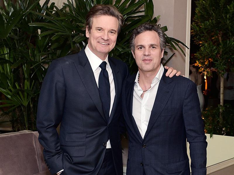Colin Firth y Mark Ruffalo