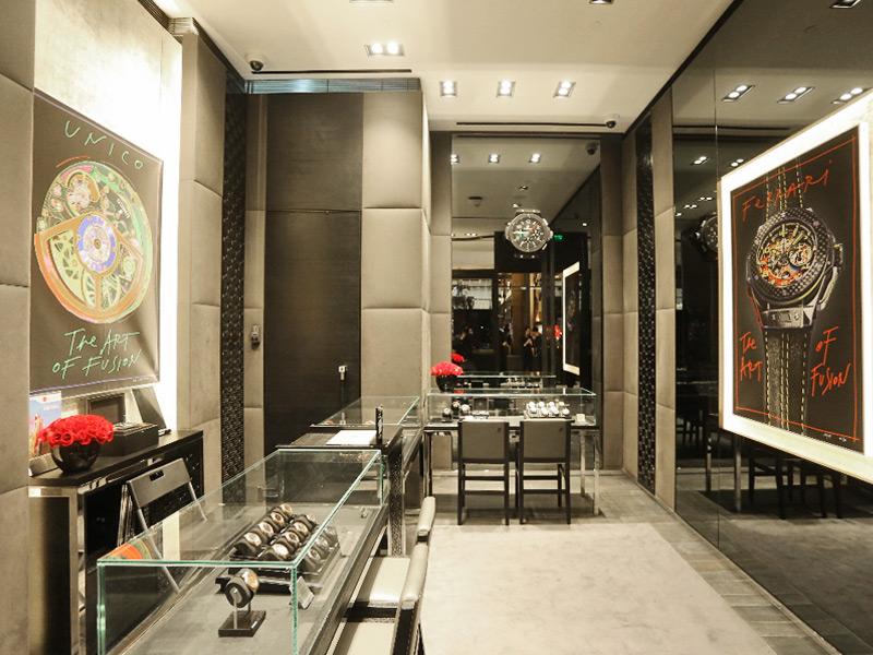 Vista general de una parte de la boutique inaugurada en 1 de marzo