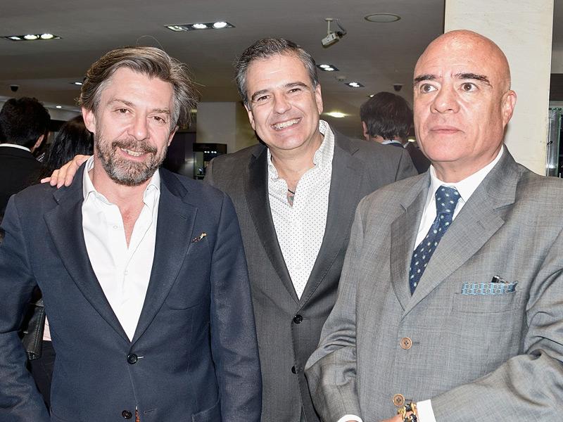 Guillermo Díaz de Sandi, Julián García y Polo Rivera Torres