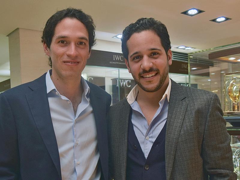 Juan Manuel Navarrete y Carlos Aviña