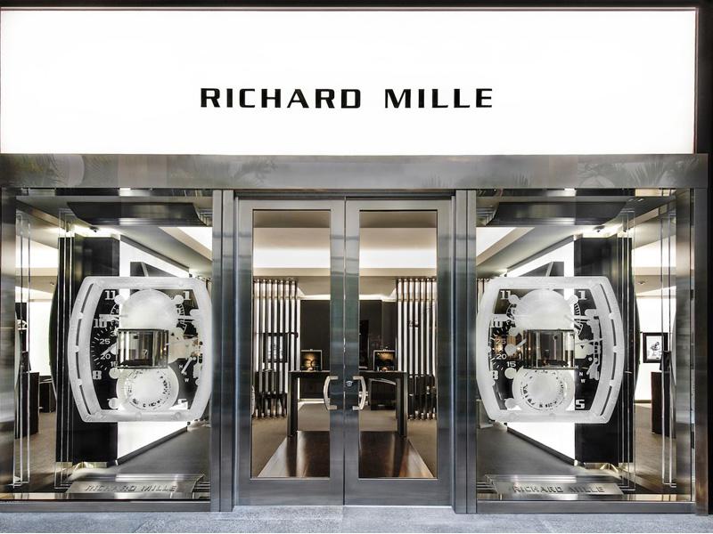Richard Mille en Barl Harbour Shops
