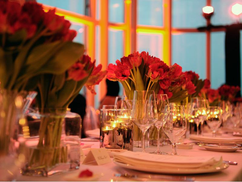 La reinaguración se coronó con una cena de gala del chef Luke Magan