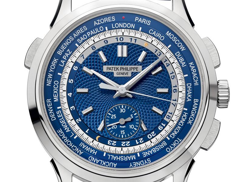 Patek Philippe Chronograph World Time Referencia 5930.