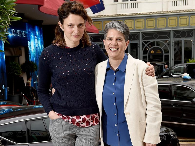 Alice Rohrwacher y Lesli Klainberg