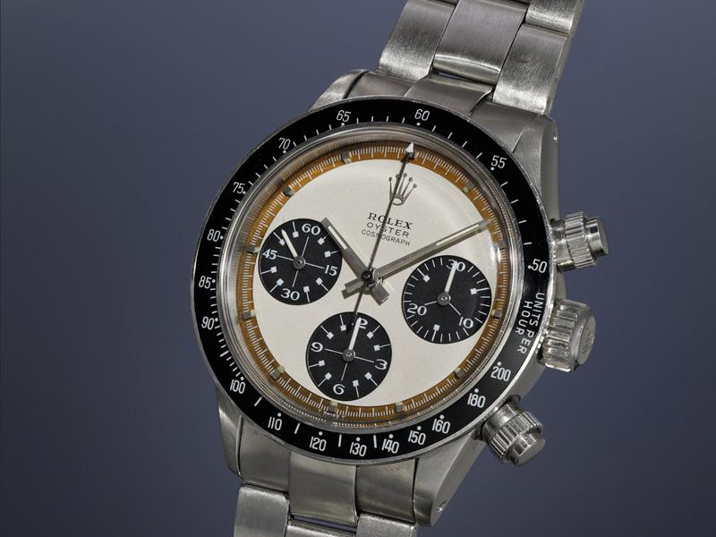 """Rolex Oyster Cosmograph, """"Paul Newman Panda"""", 6263. 37.5 mm. Manual, cal. 727, 17 rubíes. De 1969. Precio estimado: 307,000/615,000 dólares Precio final: 951,000 dólares"""