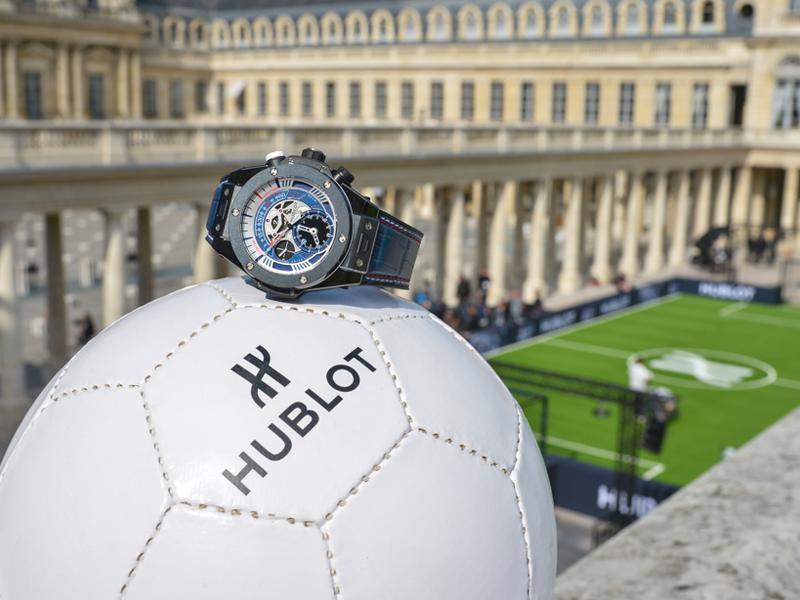 Big Bang Unico Retrograde Chronograph UEFA EURO 2016TM, el reloj Oficial de la Eurocopa.