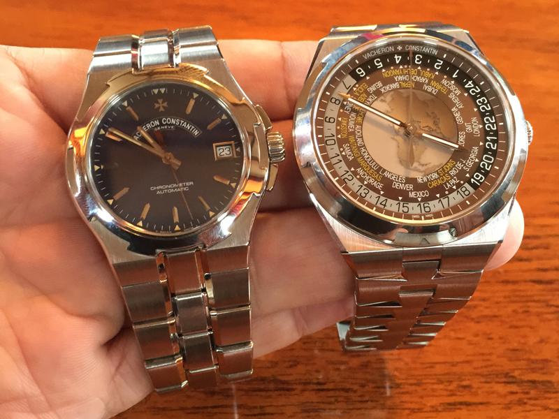 A la izquierda, primera generación de Overseas de 1996. A la derecha el actual Overseas World Time.