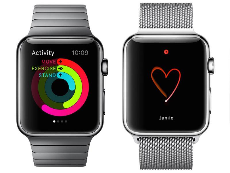 Modelos de la primera generación del Apple Watch.
