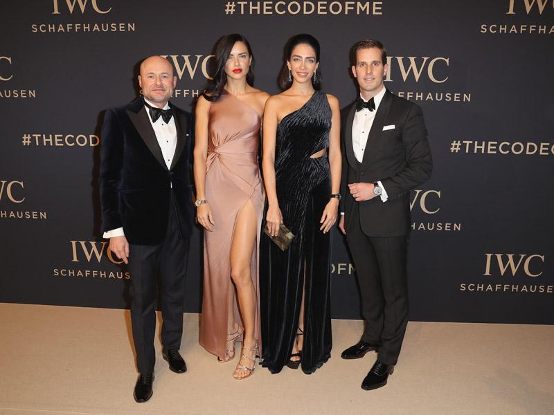 Georges Kern, Adriana Lima, Jessica Kahawaty y Christoph Grainger-Herr