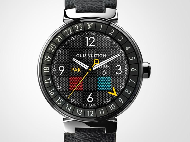 37fa10d25 El nuevo Tambour Horizon se presenta como un reloj de pulsera ideal para  aquellos que aman viajar por el mundo, ya que permite al usuario acceder a  todo ...