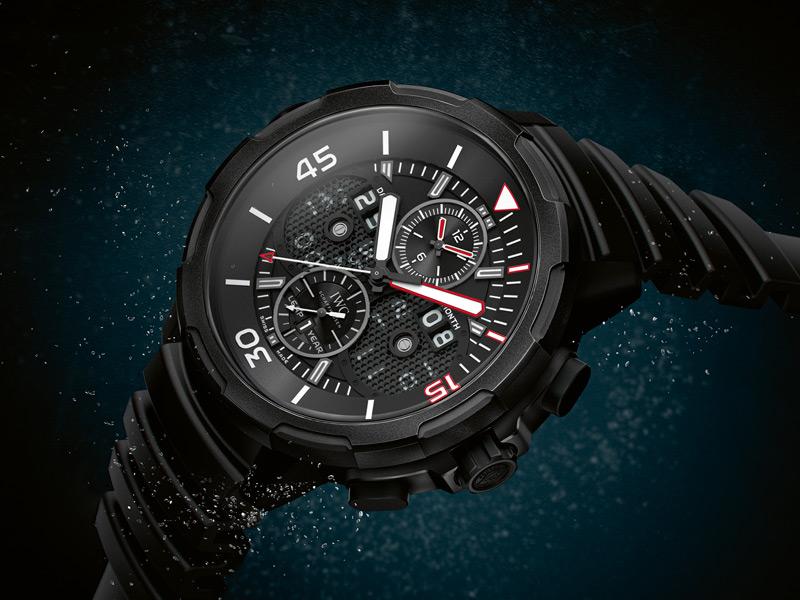 451f904fde32 IWC lanza el primer reloj con caja de Ceratanium - Tiempo de relojes