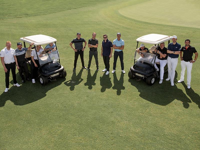 Dream Team de golf de Audemars Piguet.