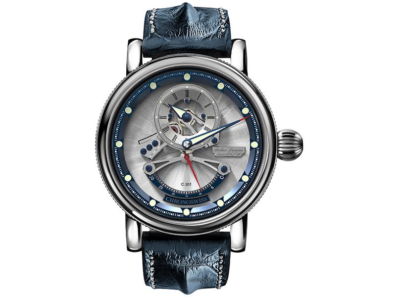 fb7645d31b94 Las celebraciones de la casa suiza ahora se trasladan a Baselworld y por  primera vez en sus 35 años presentan un reloj regulador llamado Flying  Grand ...