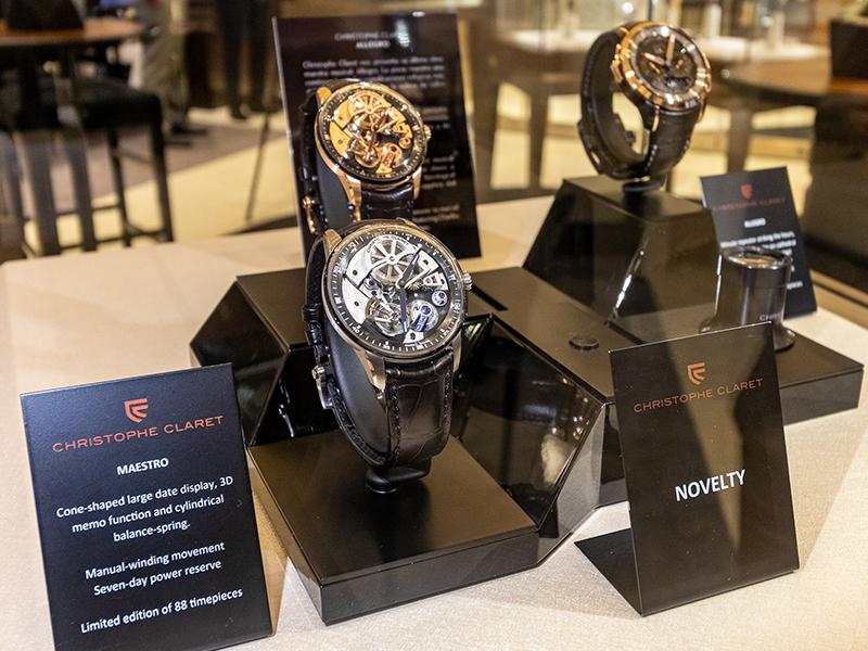 Las creaciones de Christophe Claret representan su pasión por la alta relojería.