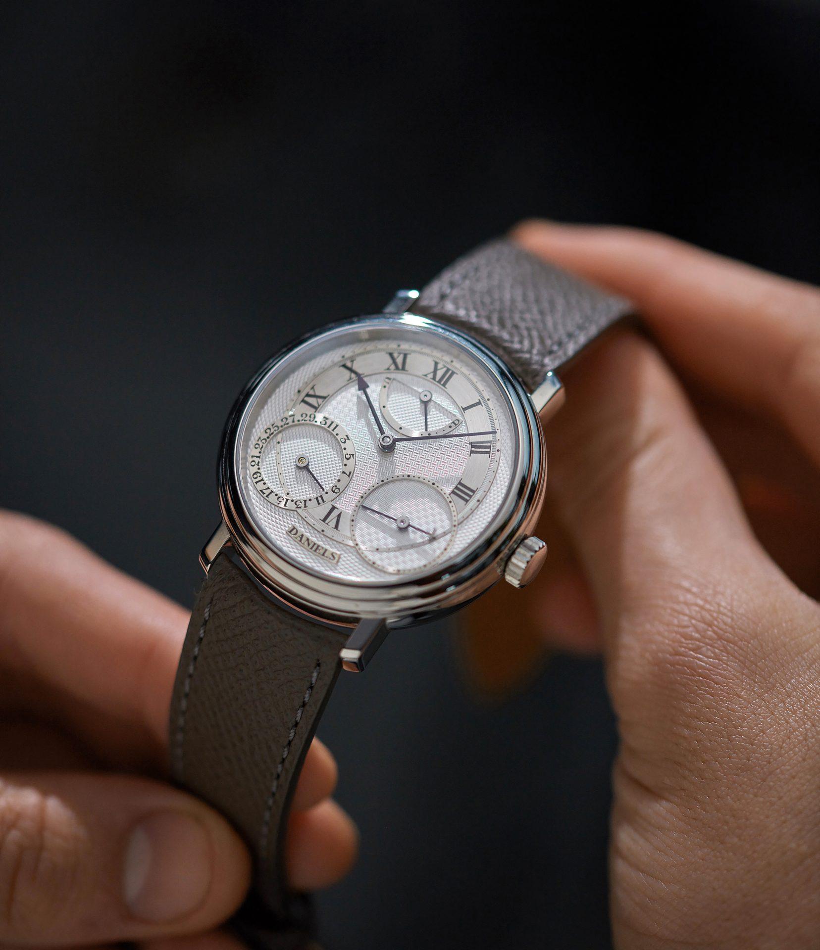 A Collected Man la casa de relojes usados independientes George Daniels