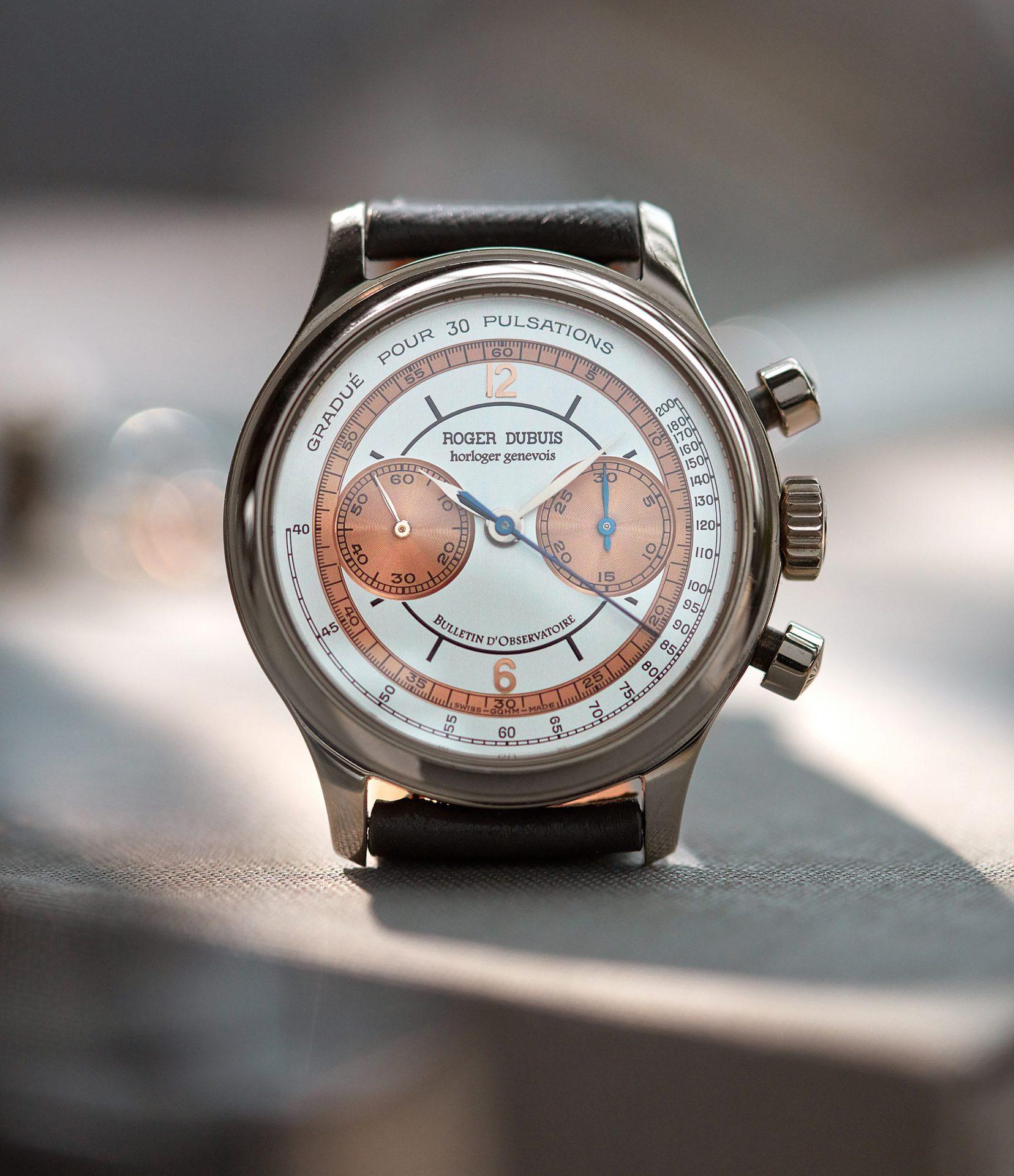 A Collected Man la casa de relojes usados independientes Roger Dubuis