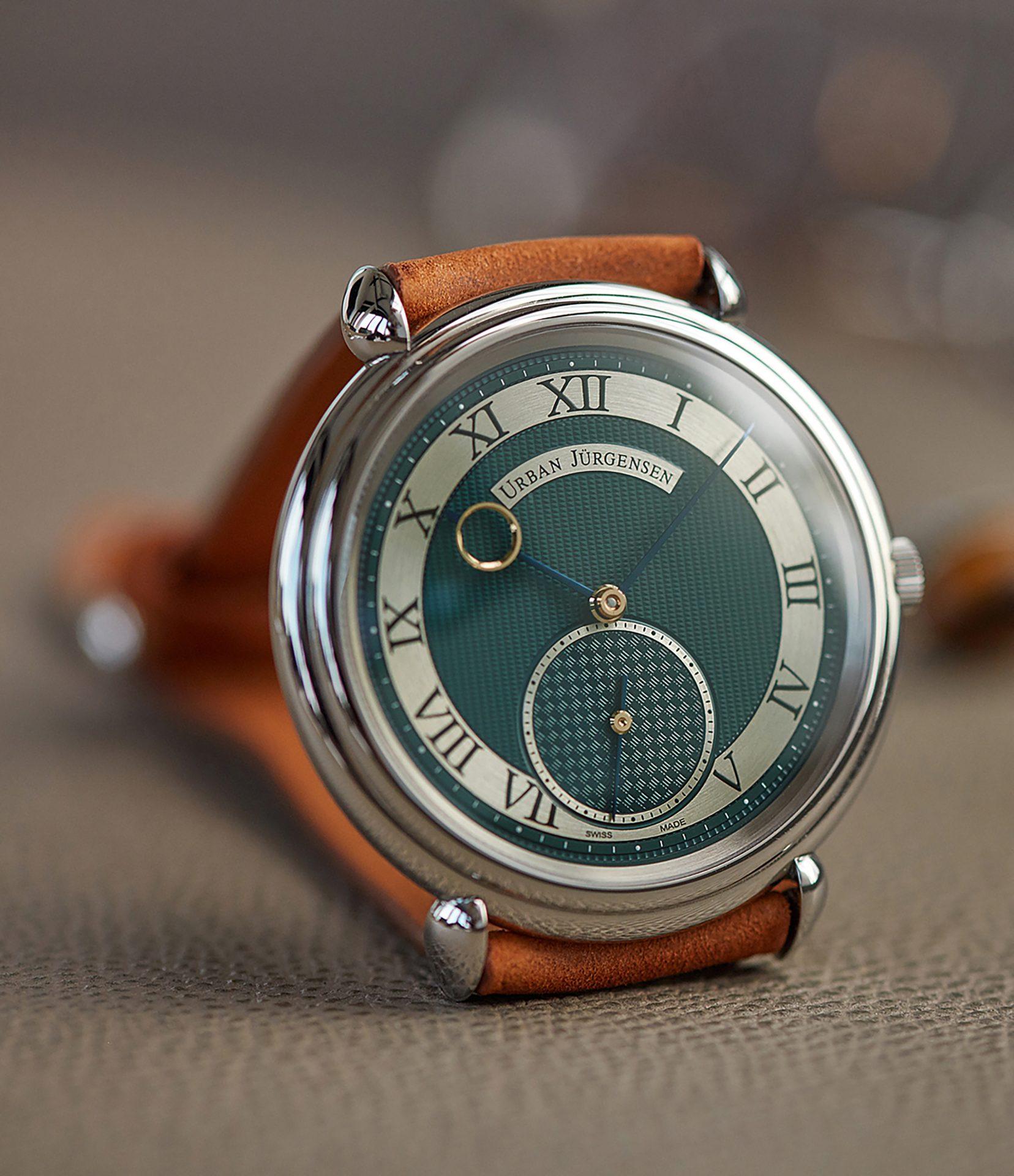 A Collected Man la casa de relojes usados independientes Urban Jurgensen