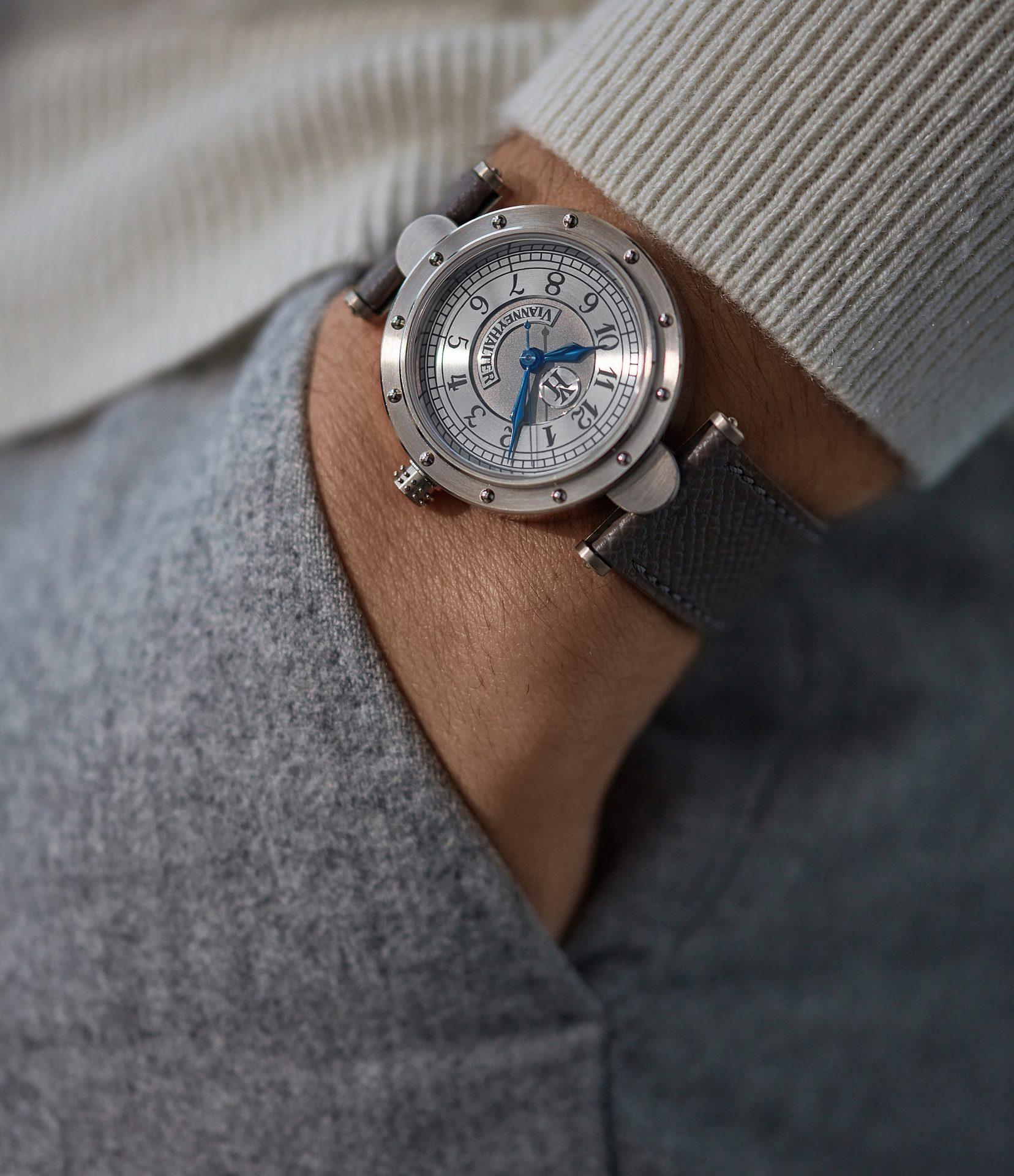 A Collected Man la casa de relojes usados independientes Vianney Halter