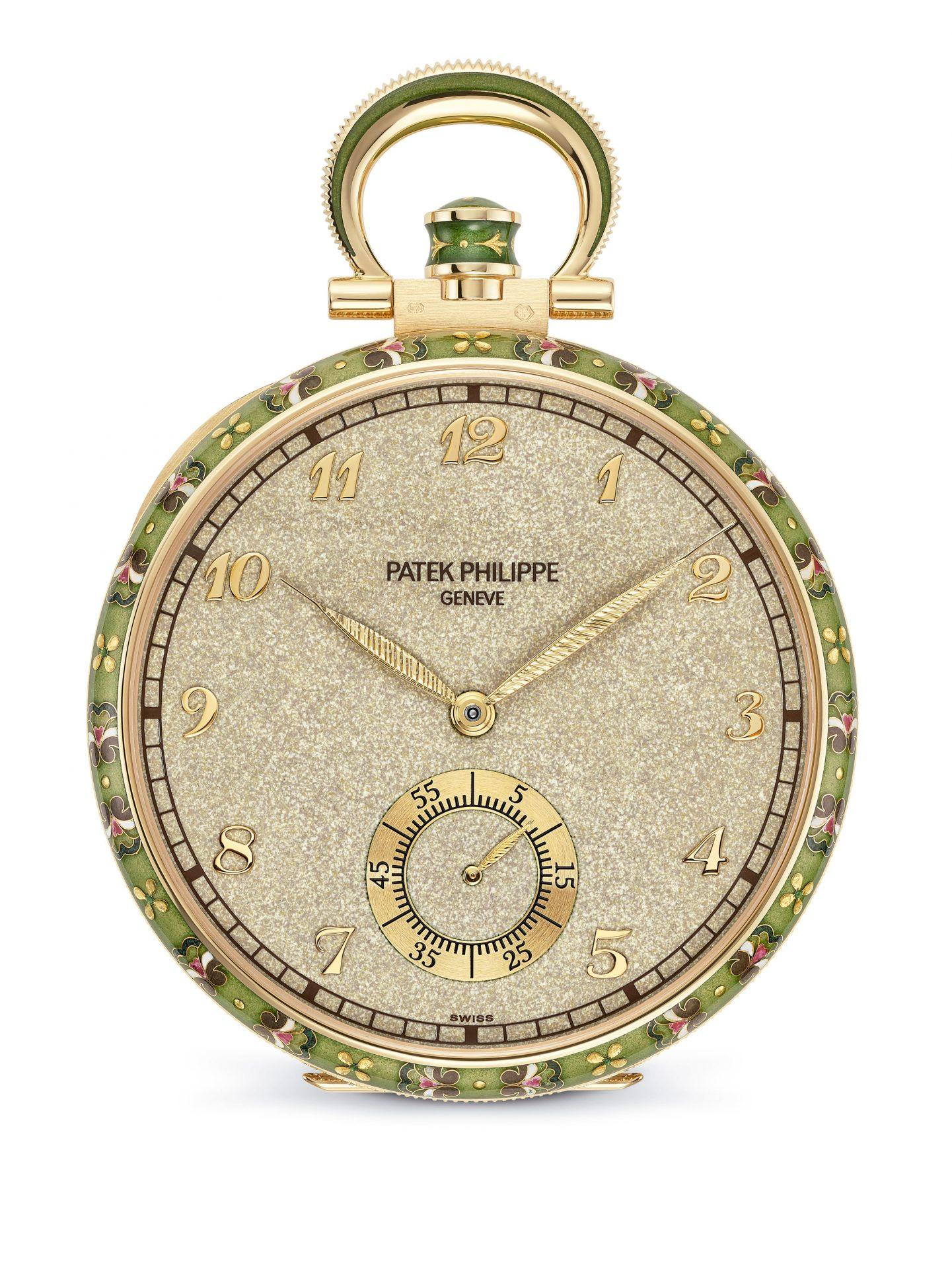 Frontal del reloj Tapices de Patek