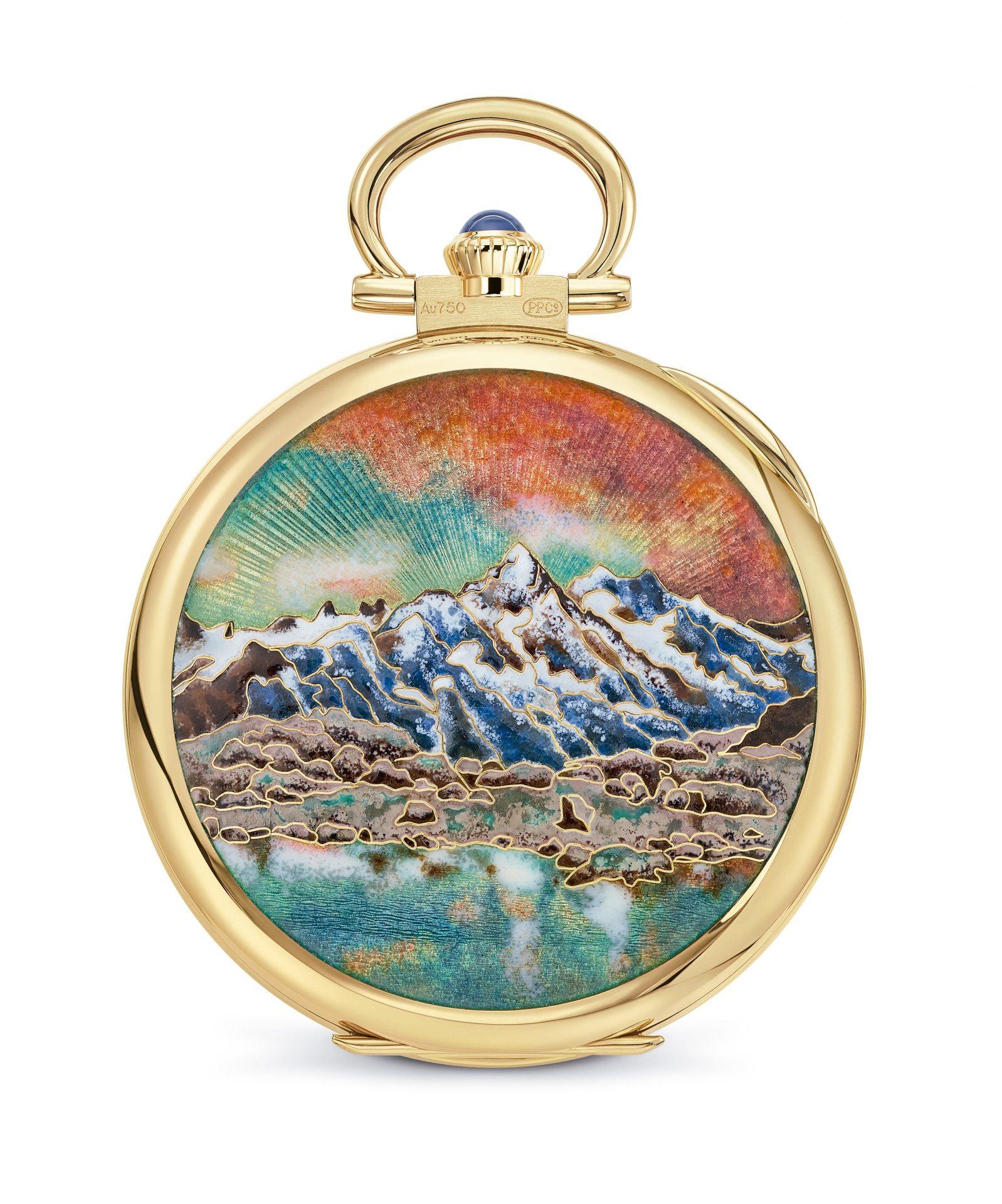 Fondo del Reloj Mont Blanc de Patek