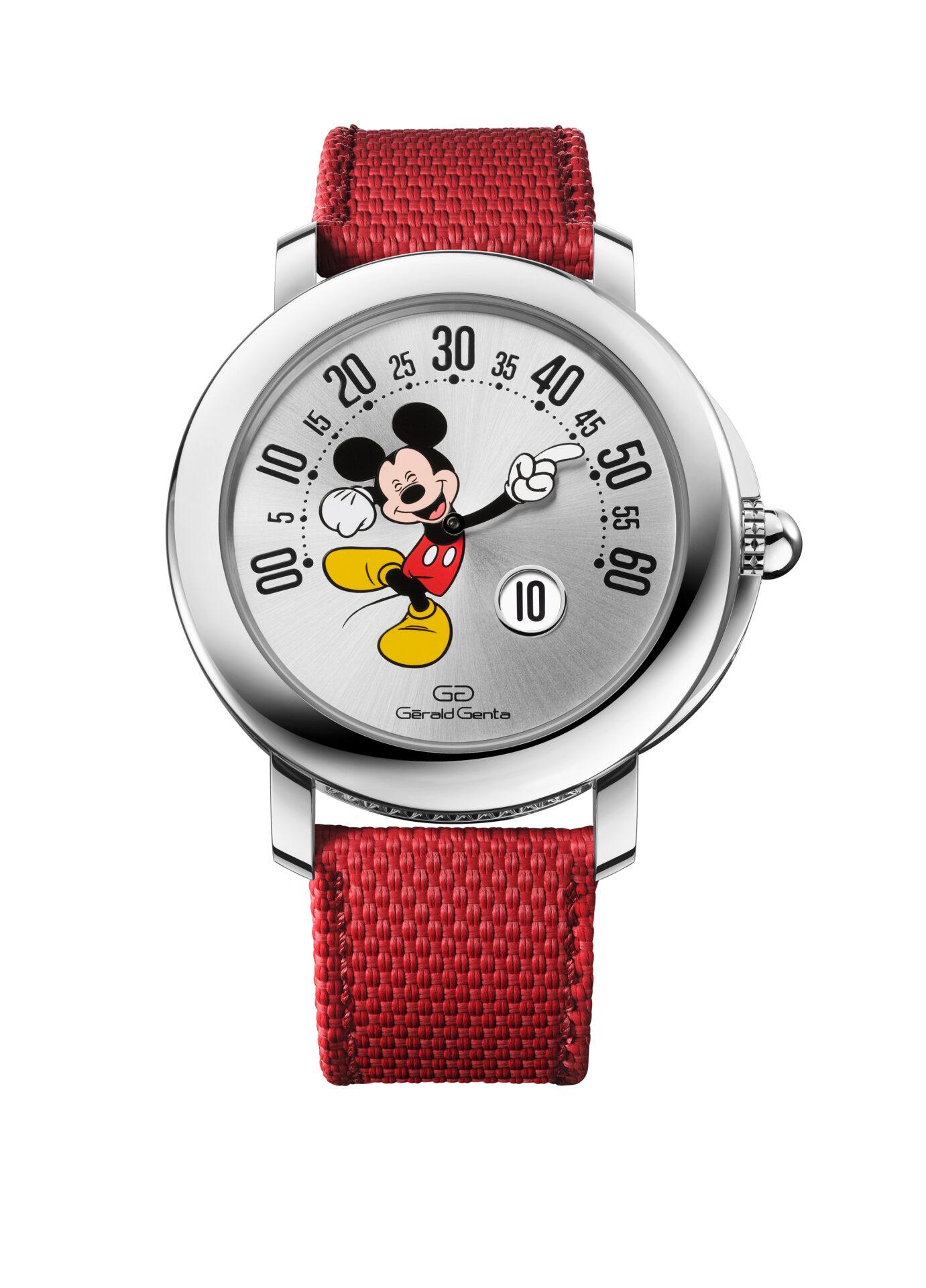 Frontal del nuevo Gerald Genta Mickey Mouse